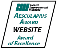 Aesculapius Award Website Award of Excellence