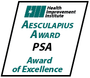 Aesculapius Award PSA Award of Excellence