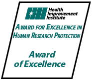 Award for Excellence in Human Resources Protection